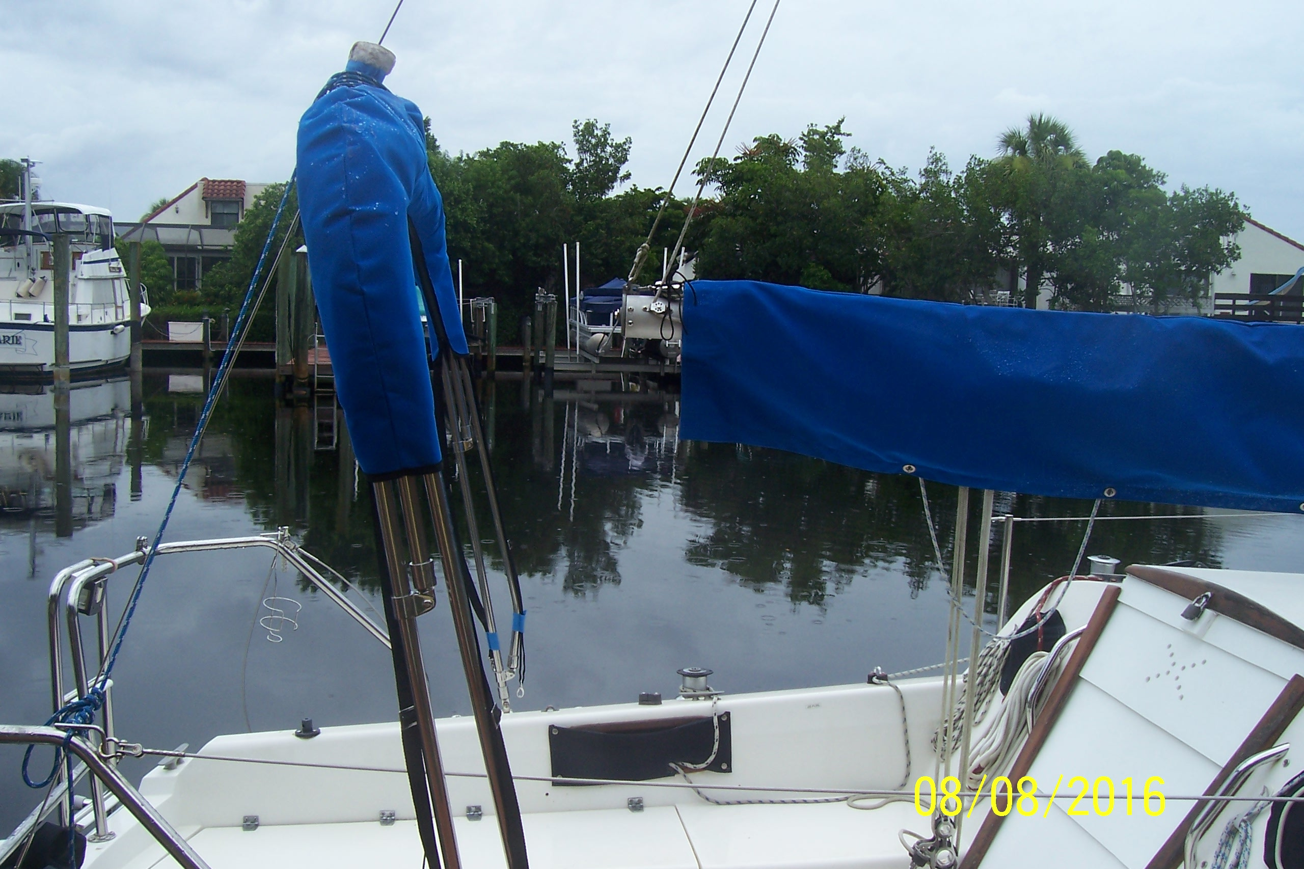 Raising the boom on a C25 tall rig | Sailboat Owners Forums