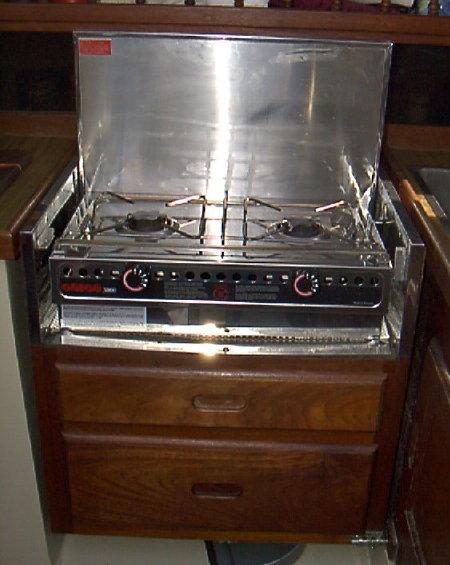 Rocket mass stove build