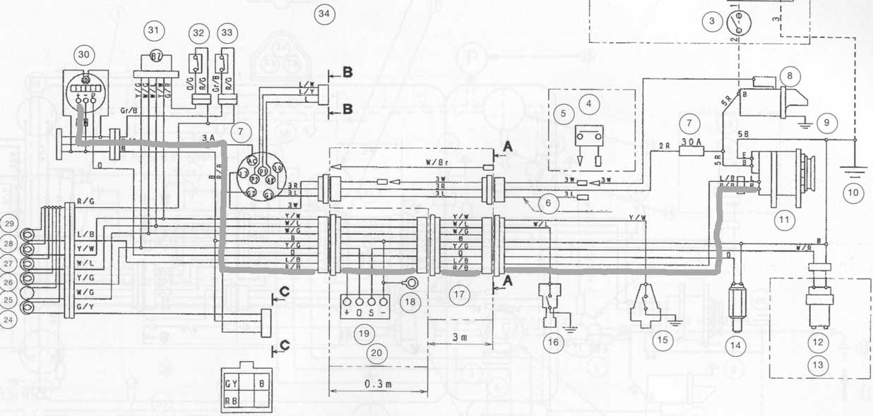 yanmar 1700 ignition wiring diagram
