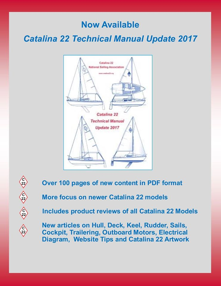 CATALINA-22 TECH MANUAL UPDATE NOW AVAILABLE | Sailboat Owners ForumsSailboat Owners Forums