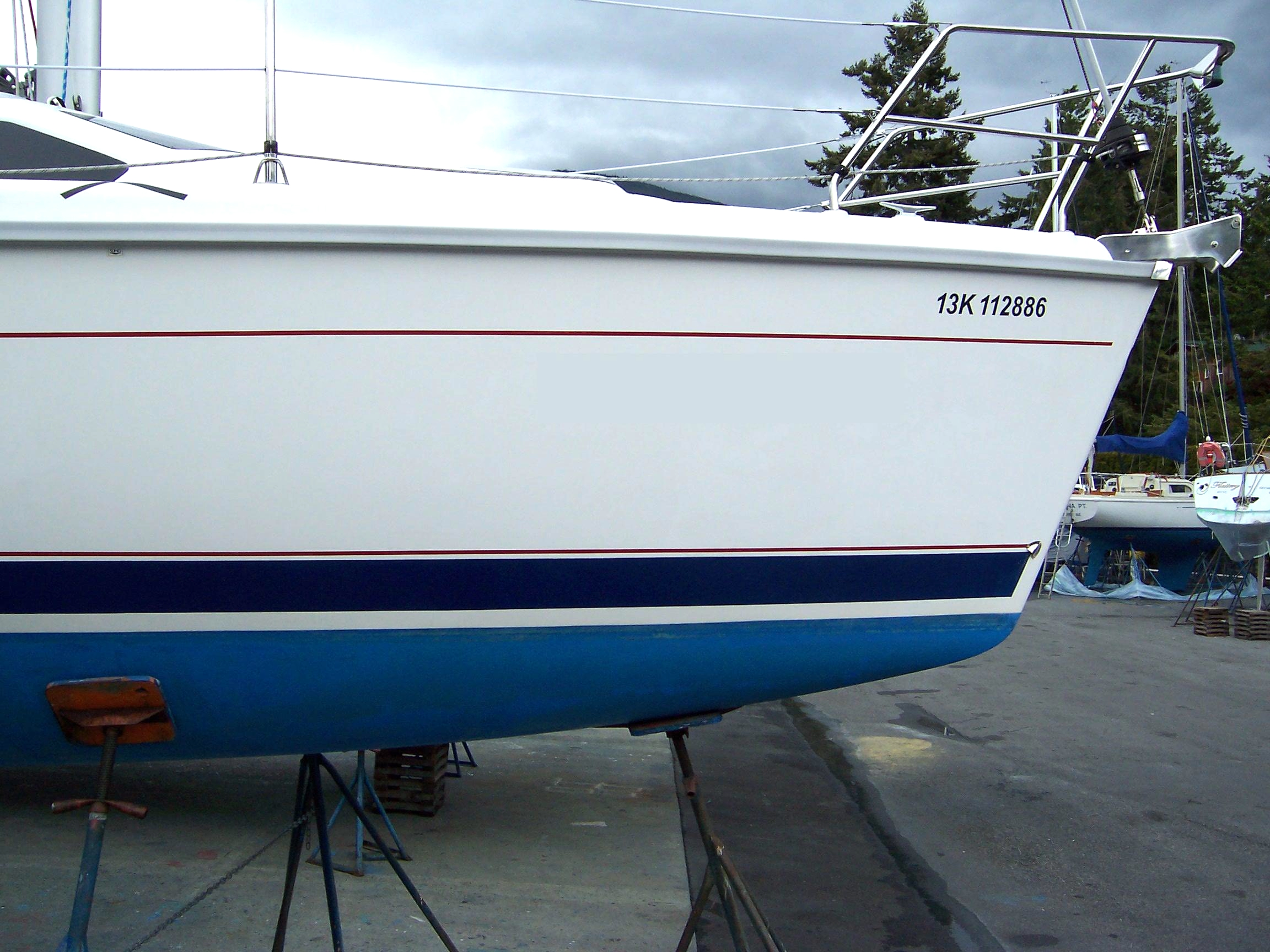 Boat Name Letter Size For Decal SailboatOwnerscom Forums - Boat decals names   easy removal