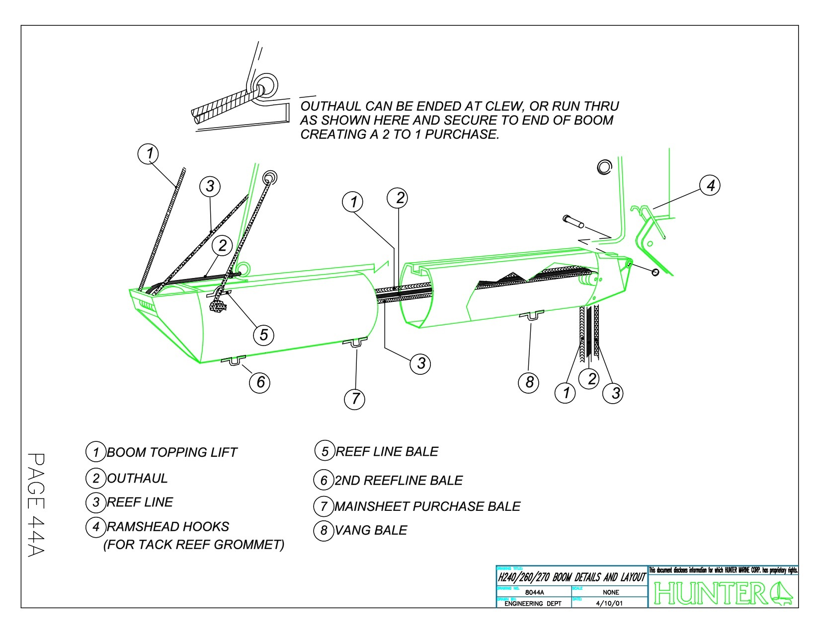 23 5 attaching topping lift to masthead | SailboatOwners com Forums