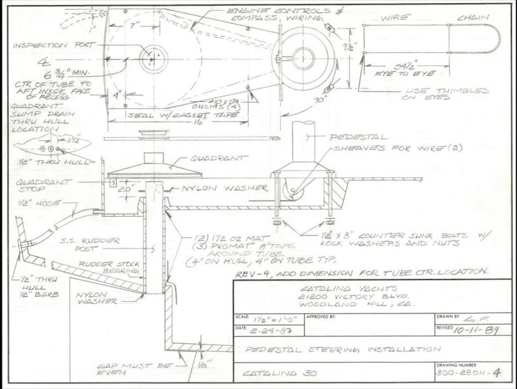 C30 Steering Installation 1989.jpg