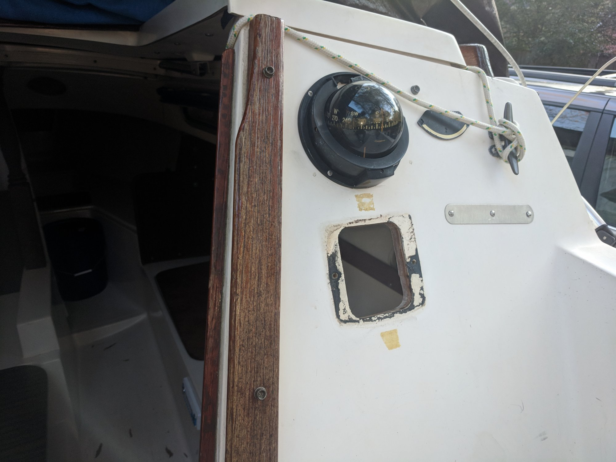 Catalina depth gauge hole.jpg