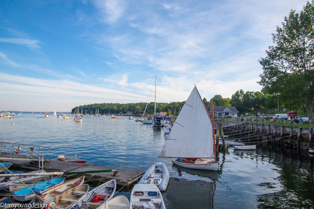 Catboat sailing in Goose River._.jpg