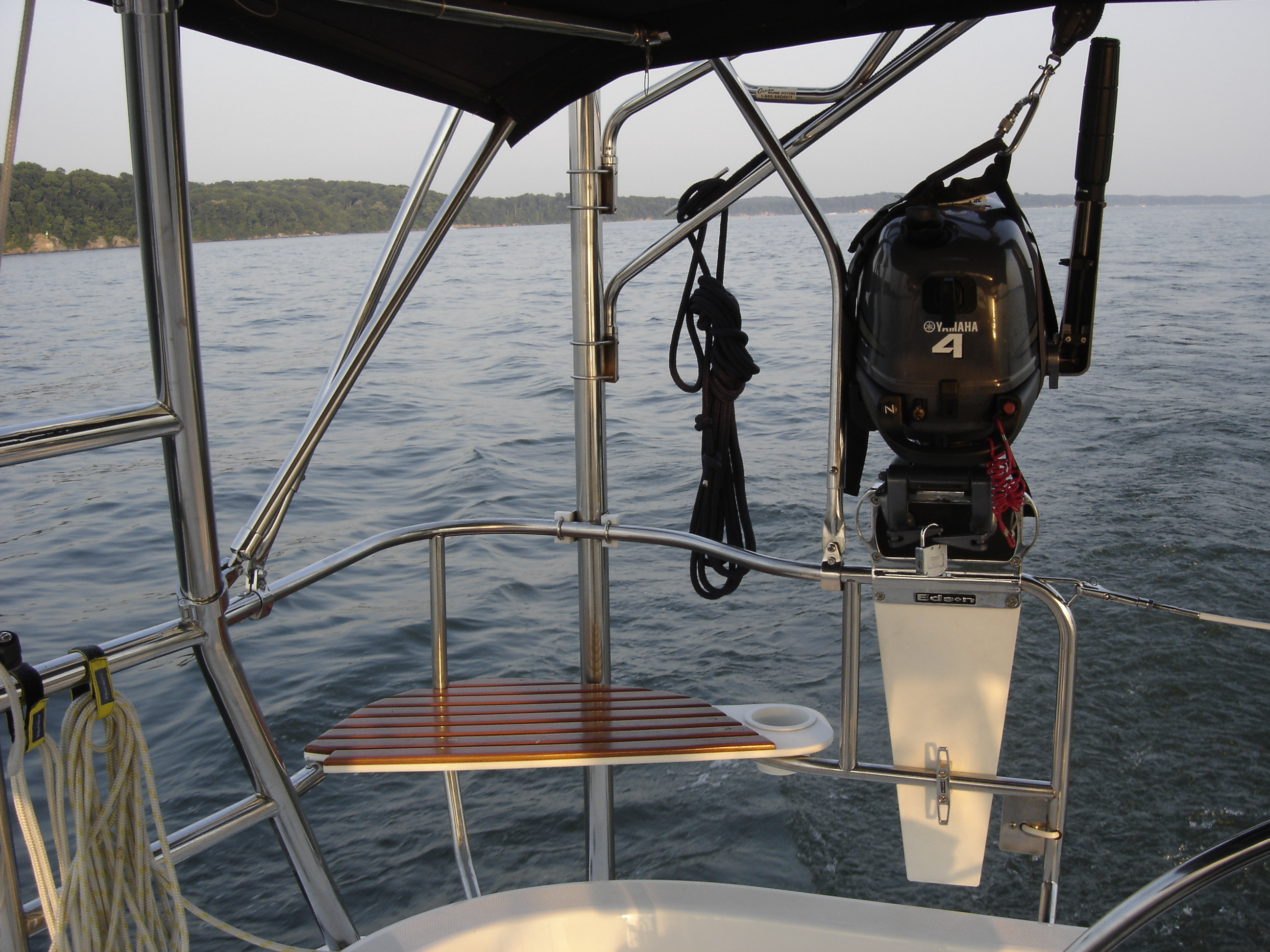 Rail Mount For Outboard Motor Page 2 Sailboatowners
