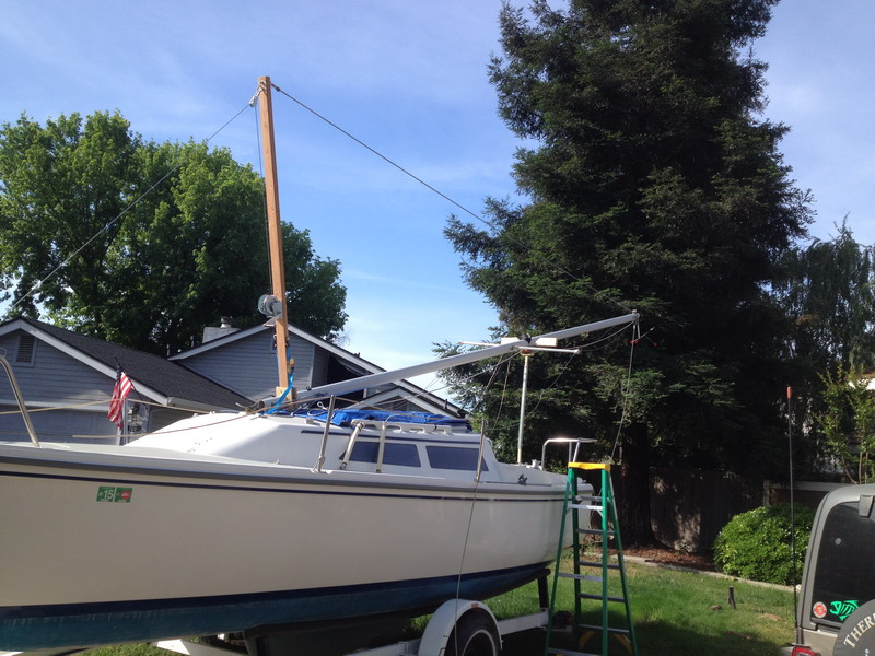 How do I make a mast raising system? | Sailboat Owners Forums