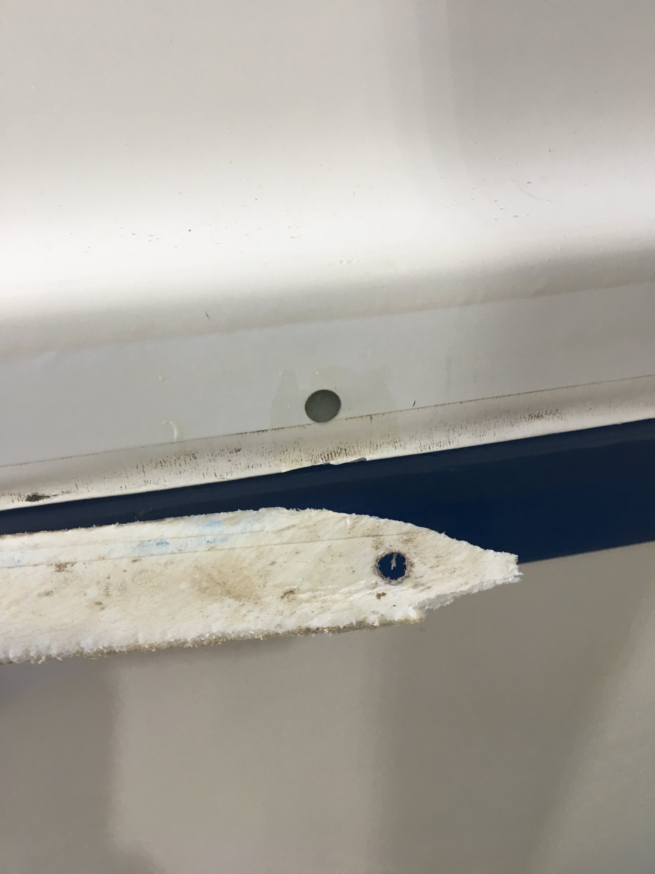 26S rub rail restauration?   Sailboat Owners Forums