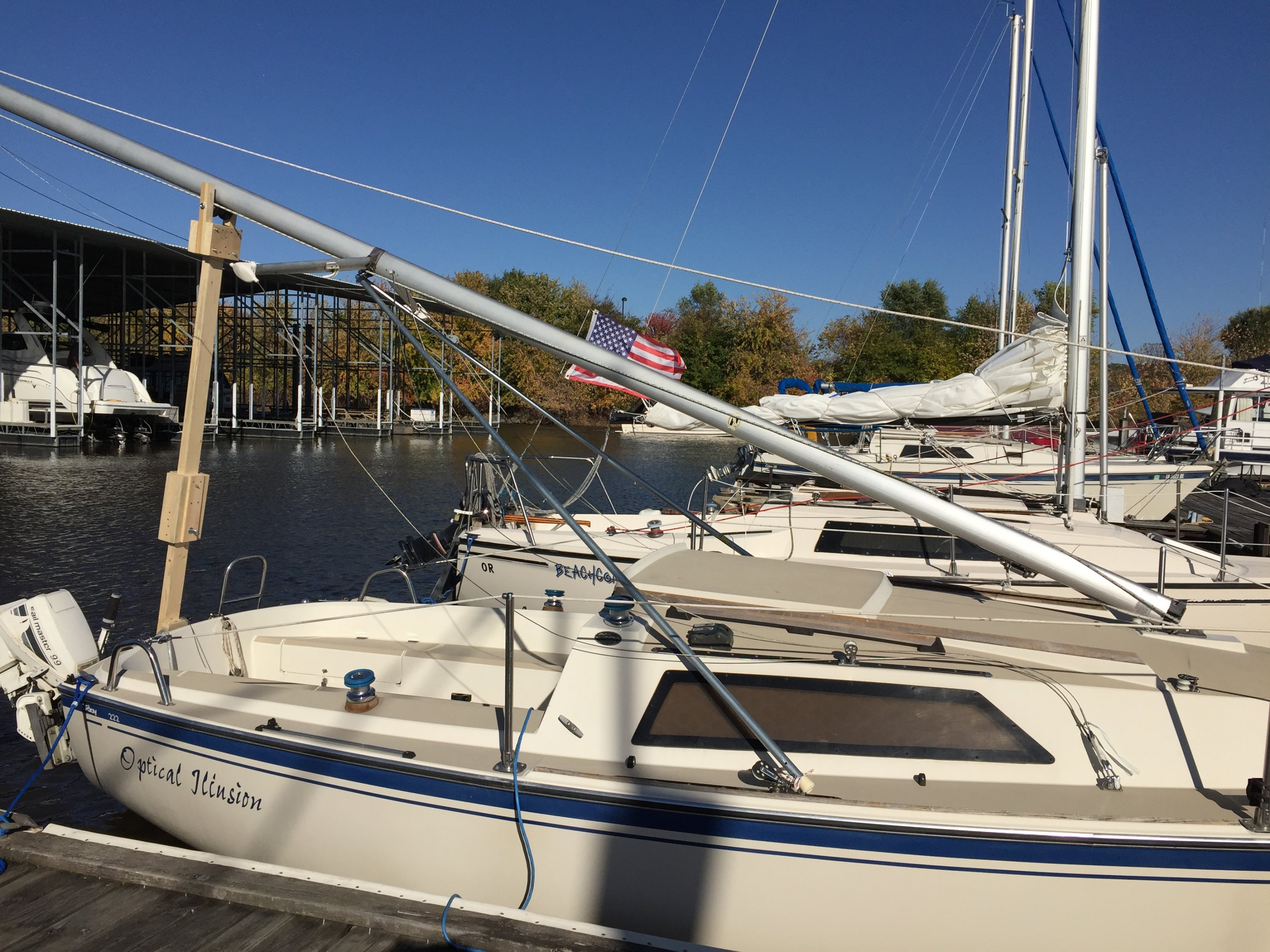 Oday 222 z spar mast step conversion sailboatowners forums img1447 publicscrutiny Gallery