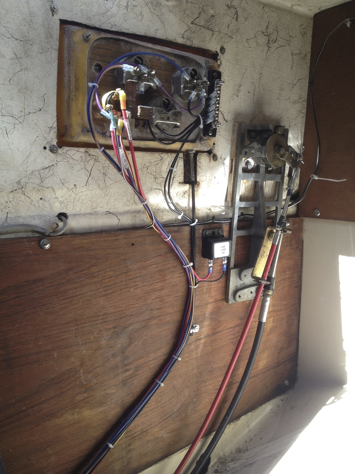 wiring harness upgrade sailboatowners com forums Custom Automotive Wiring Components at gsmportal.co