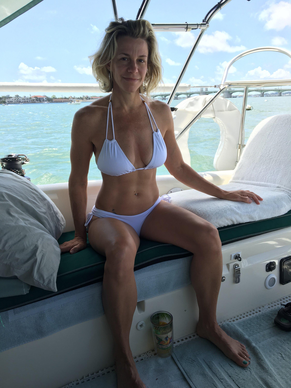 boating with bikinis