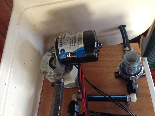 Replace Jabsco Bilge Pump With What SailboatOwnerscom Forums - Jabsco pump wiring