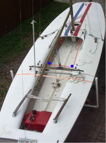 1973 m 20 scow rigging question sailboatowners com forums rh forums sailboatowners com Scow Boat Plans Scow Boat