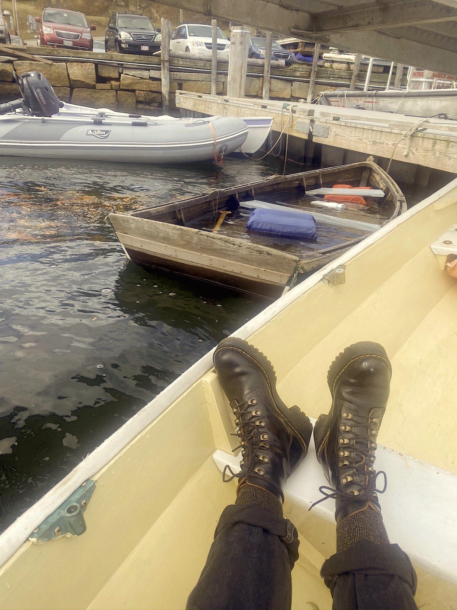 MJ's boat boots. .JPEG