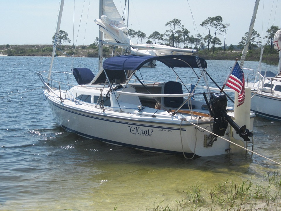 Motor Size for Catalina 22 | Sailboat Owners Forums