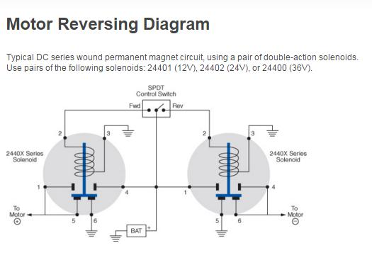Motor Reversing Diagram Cole Hersee Littelfuse on cole hersee solenoid wiring diagram