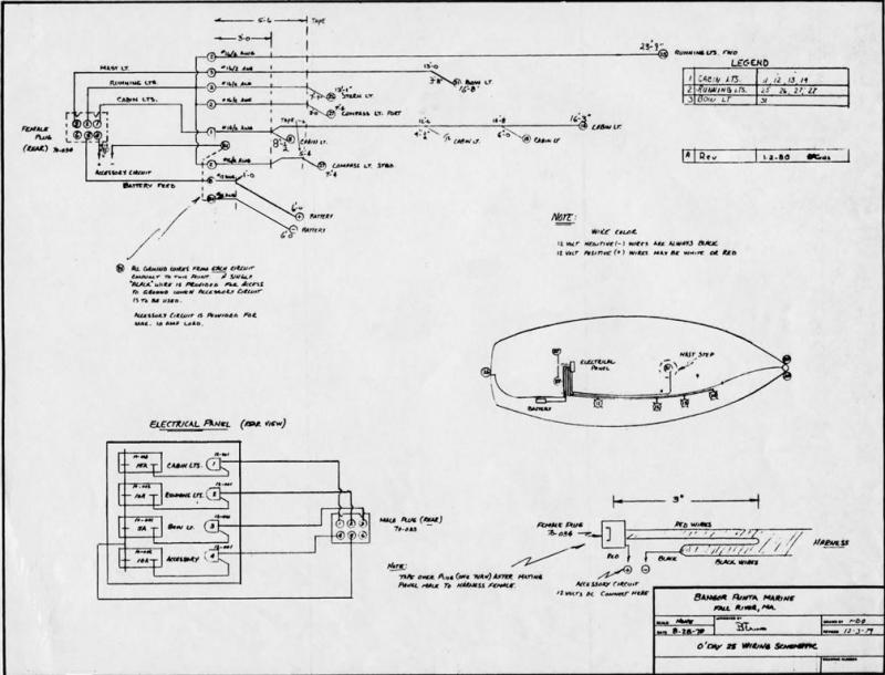 o'day 25 wiring schematic sailboatowners com forums catalina 25 wiring diagram at mifinder.co
