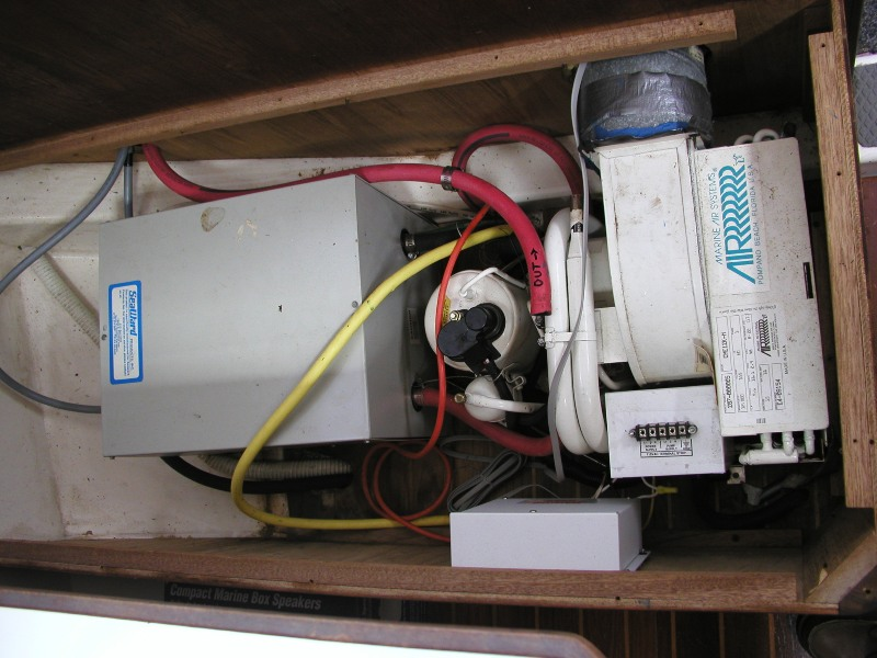 Air conditioning install | Sailboat Owners Forums
