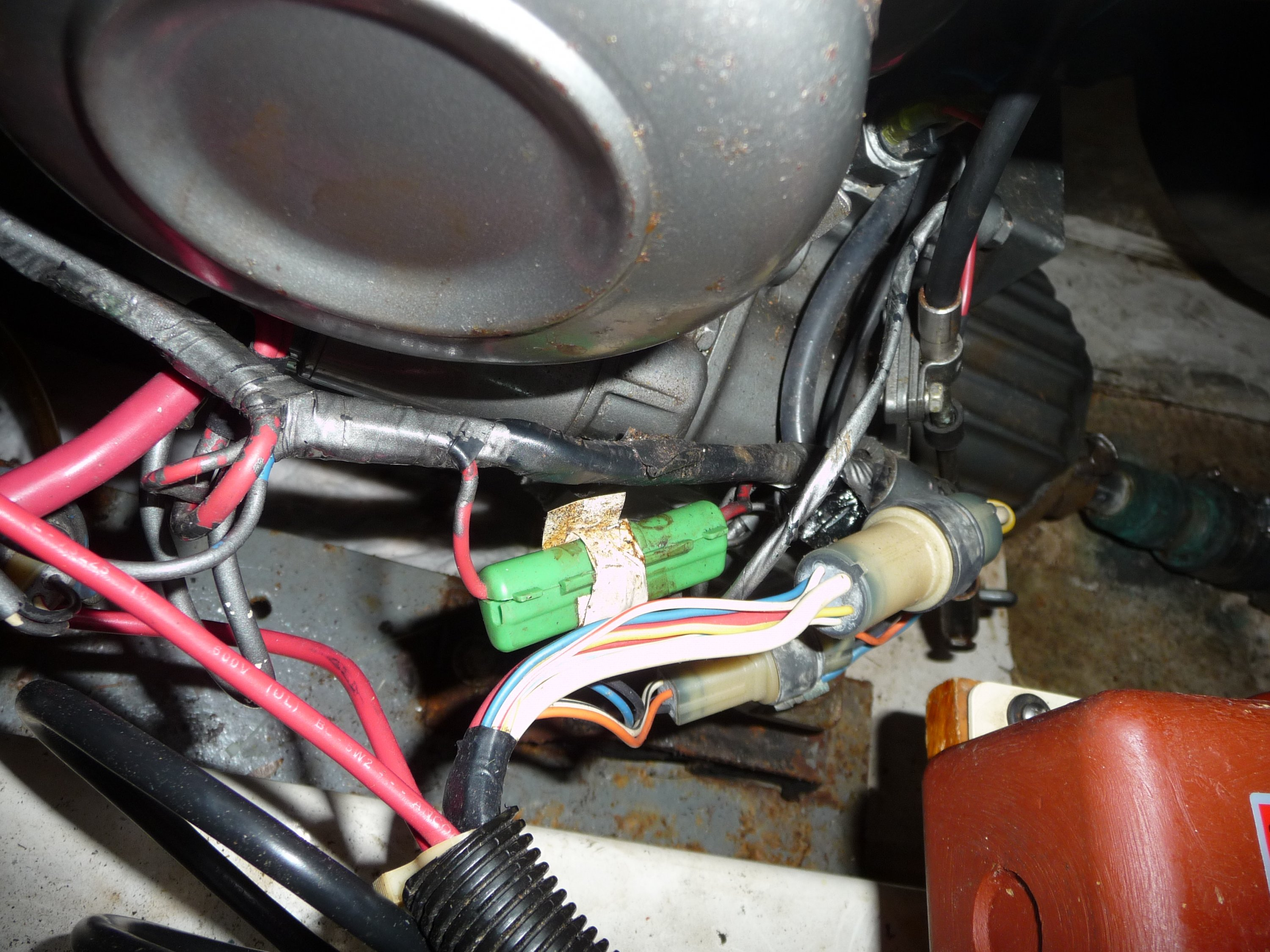 starting yanmar 1gm10 sailboatowners com forums yanmar wiring harness at creativeand.co