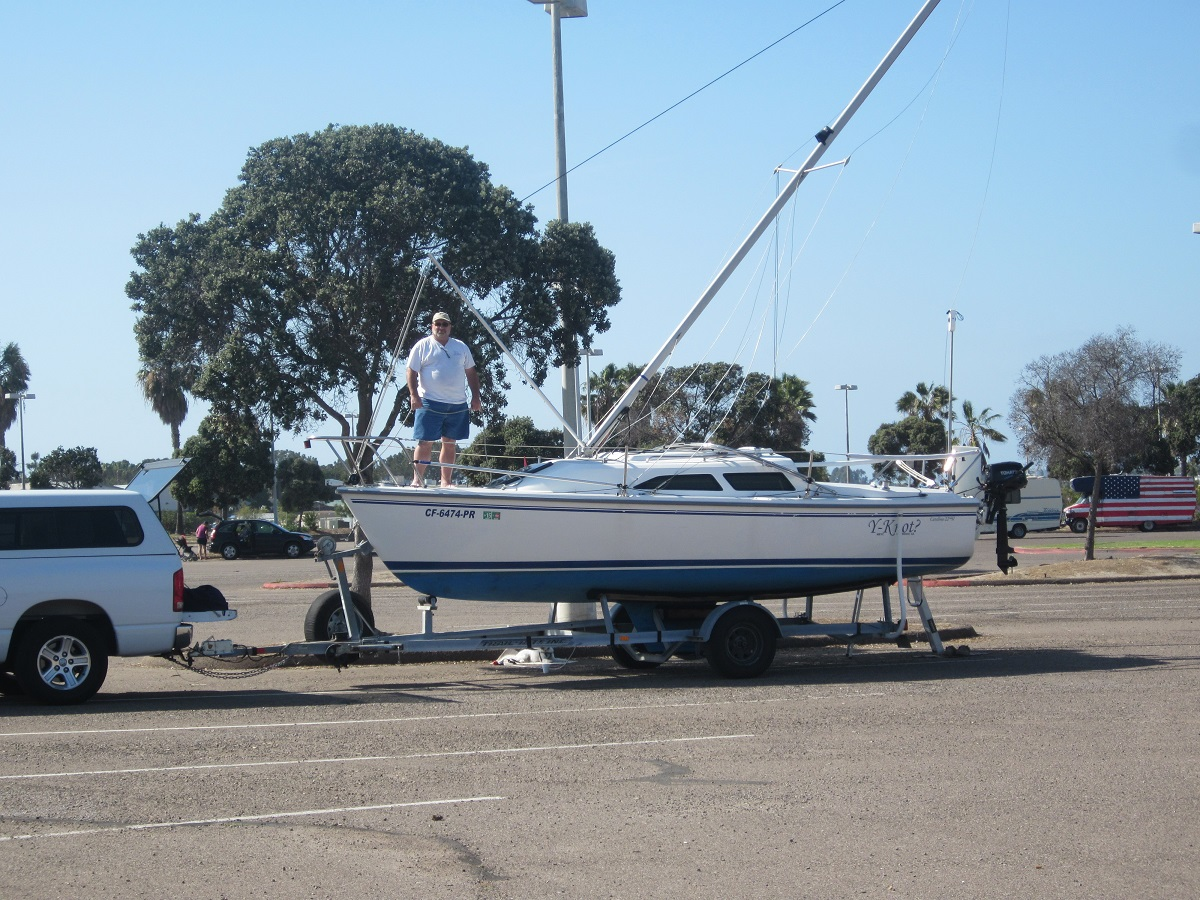 Mast stepping process sailboatowners forums the catalina factory mast raising system allows us to continue our trailer sailor lifestyle as we got older and have some physical limitations publicscrutiny Gallery