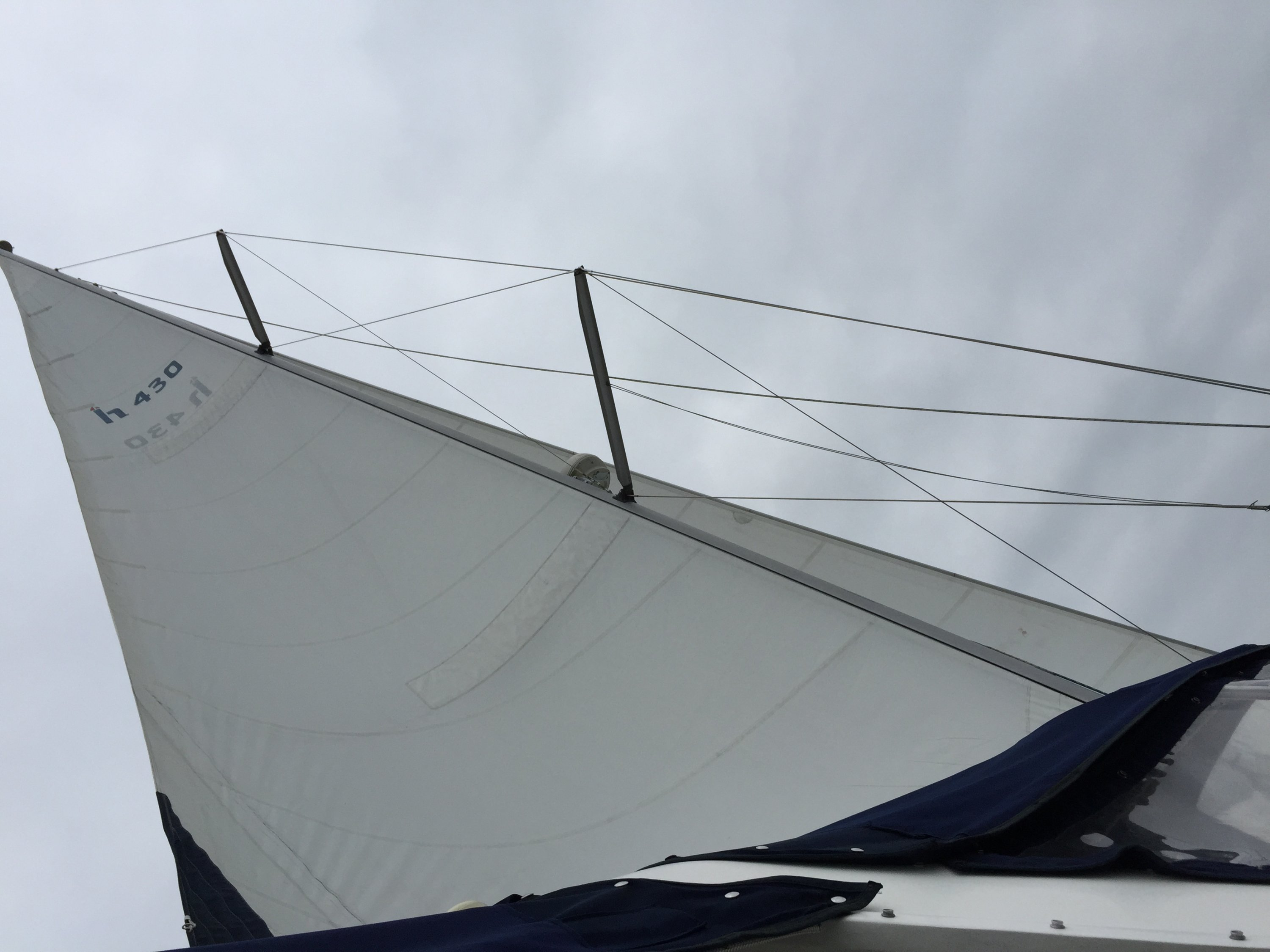 In mast 'piece of crap' furling system | SailboatOwners com Forums