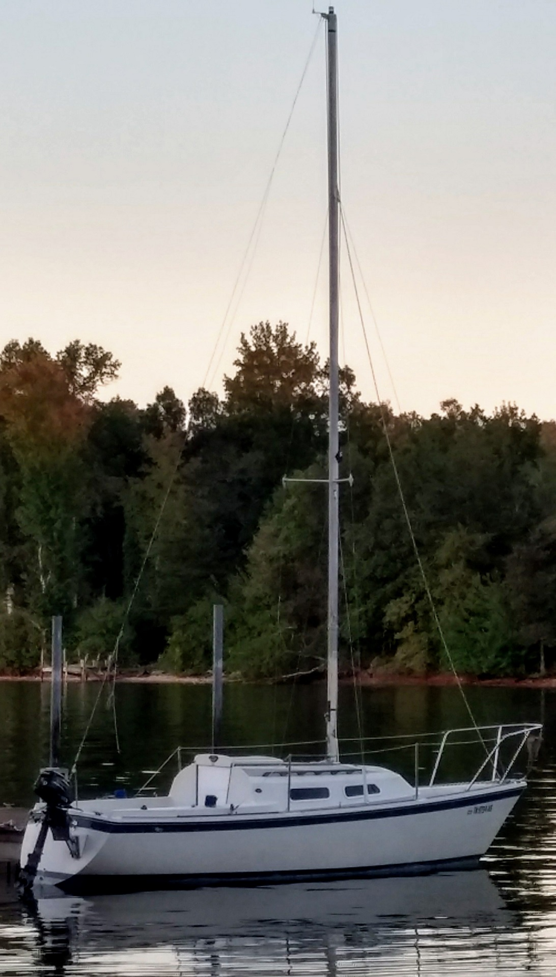 New o'day 22 owner with a few questions   Sailboat Owners Forums on