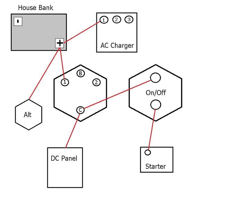 help with wiring upgrades c400 sailboatowners com forums hitachi lr180-03c alternator wiring diagram at eliteediting.co