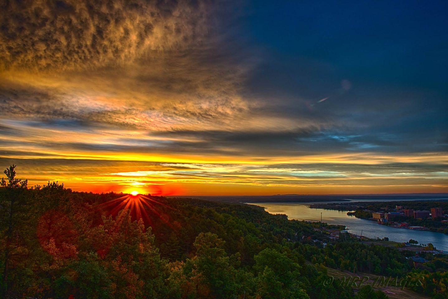 Sunrise over Hougton.jpg