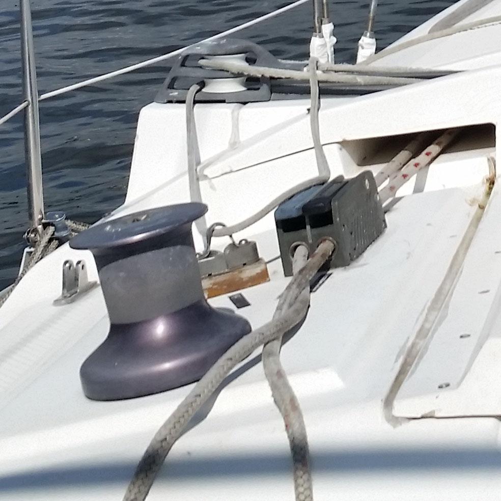 main traveler car u0026 sheet set up sailboatowners com forums