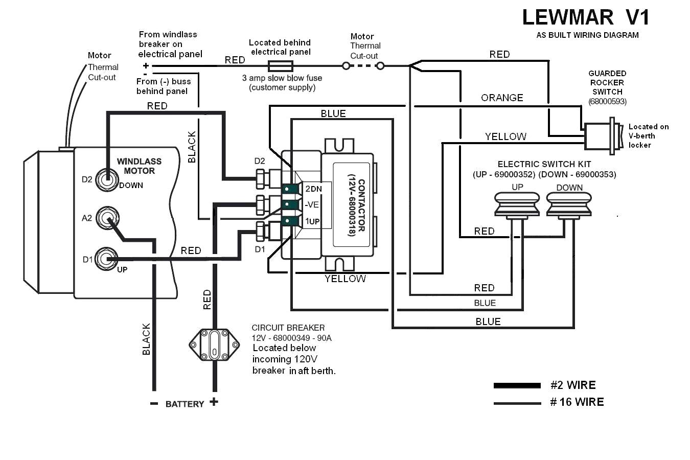boat instrument wiring diagram
