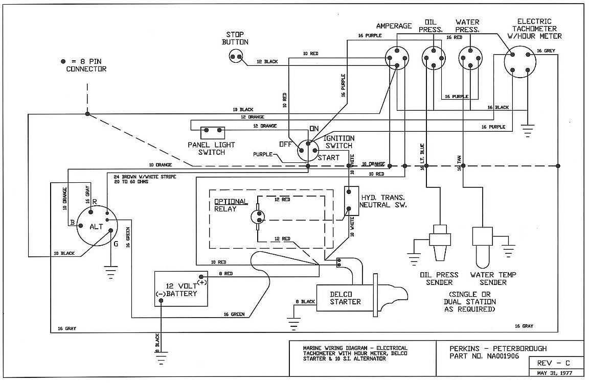 Desperate for WIRING diagram Perkins 4108 on 1983 Beneteau First ...